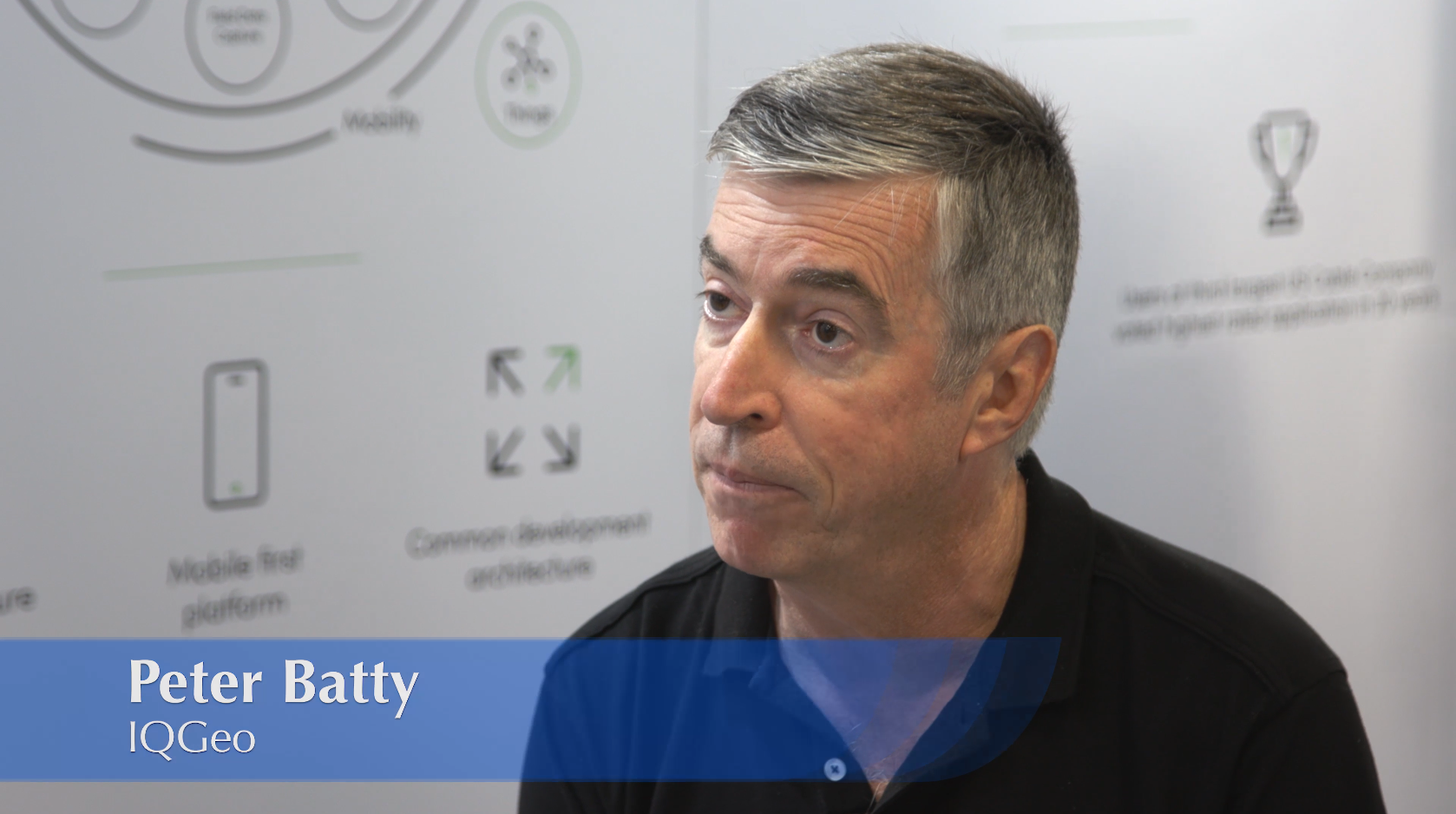 Interview with Peter Batty, CTO at IQGeo
