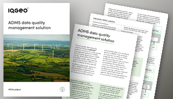 ADMS data quality management solution
