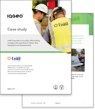 IQGeo and Unitil case study