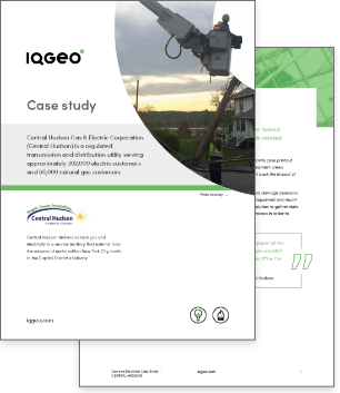 Central Hudson and IQGeo Damage Assessment case study
