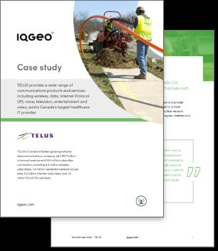 TELUS and IQGeo geospatial software case study