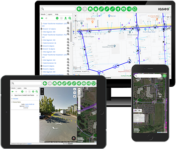 IQGeo mobile first geospatial software